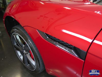 jaguar F-type GYEON detail